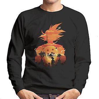 Dragon Ball Z Namek Sunset męska Bluza