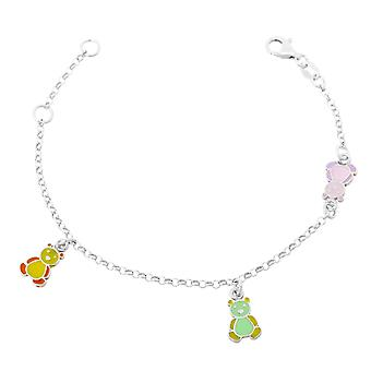Orphelia Silver 925 Kids Bracelet W/ Bear Elements  ZA-7140
