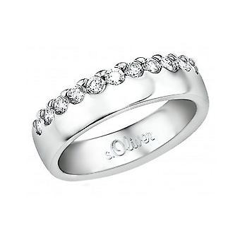 s.Oliver damesring juweel zilveren Zirkonia SO809