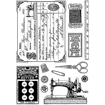 Crafty Individuals Unmounted Rubber Stamp 4.75
