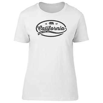 California Surfing Vintage Bear Tee Women's -Image by Shutterstock