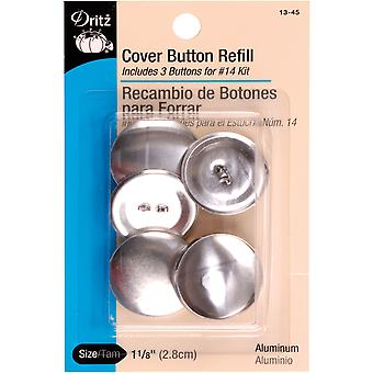 Cover Button Refills-Size 45 1-1/8