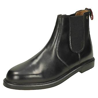 Mens HX London Pull On Ankle Boots HX05