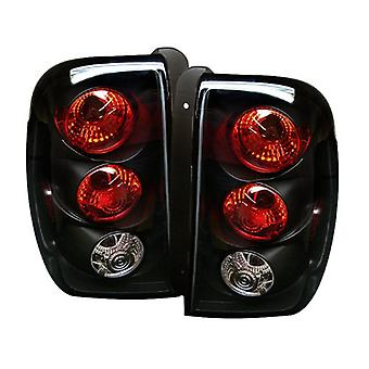 Spyder Chevy Trail Blazer 02-04 Altezza Tail Lights - Black