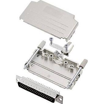 encitech DPPK37-M-HDP62-K D-SUB pin strip set 180 ° Number of pins: 62 Solder bucket 1 Set
