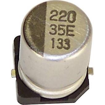 Teapo VEV476M6R3S0ANB01K elektrolytisk kondensator SMD 47 µF 3 V 20% (Ø x H) 4 x 5.4 mm 1 eller flere PCer