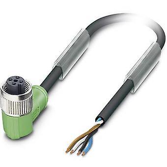 Sensor/Actuator cable SAC-4P-10,0-PVC/M12FR BK 1527731 Phoenix Contact