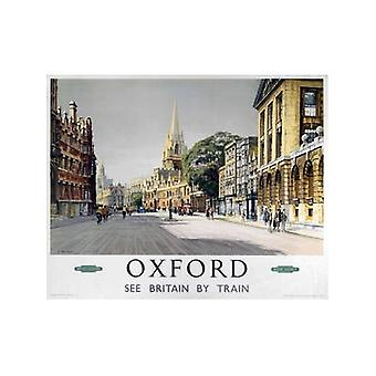 Oxford brede St. (oude spoor Ad.) Fridge Magnet