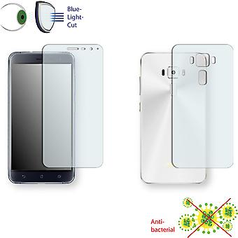 ASUS ZenFone 3 ZE520KL screen protector - Disagu ClearScreen protector (1 front / 1 rear) (deliberately smaller than the display, as this is arched)