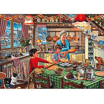Gibsons Christmas Treats 1000 Piece Puzzle