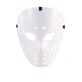 Hockey mask white horror Halloween accessory Carnival serial killer killer