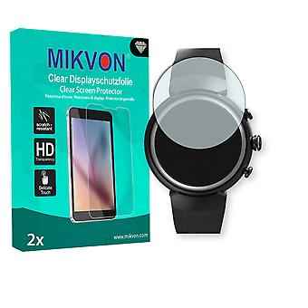 Asus Zenwatch 3 Screen Protector - Mikvon Clear (Retail Package with accessories)