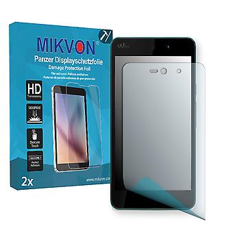 Wiko Rainbow Up Screen Protector - Mikvon Armor Screen Protector (Retail Package with accessories)