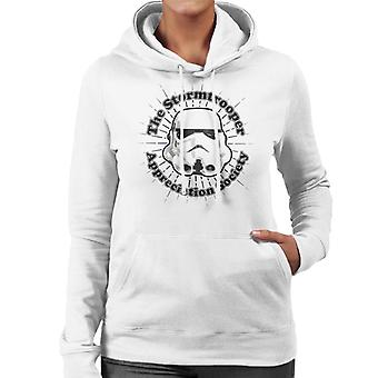 Original Stormtrooper Appreciation Society Frauen Sweatshirt mit Kapuze