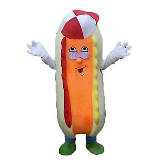 SPOTSOUND of beige and orange, colorful and funny dog mascot