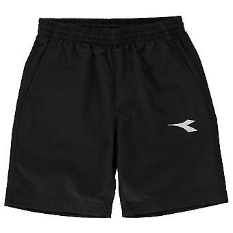 Diadora bambini ragazzi Brisbane calcio Pantaloncini Junior leggero pantaloni gonne e pantaloni