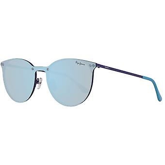 Sunglasses mirrored Pepe jeans nice ladies in the Mono wafer-style blue
