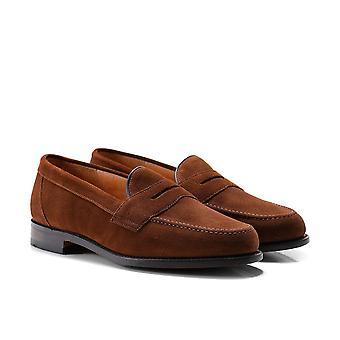 Loake Saddle Suede Eton Loafers