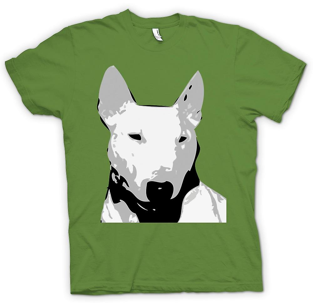 Mens T-shirt - English Bull Terrier - Pet Dog