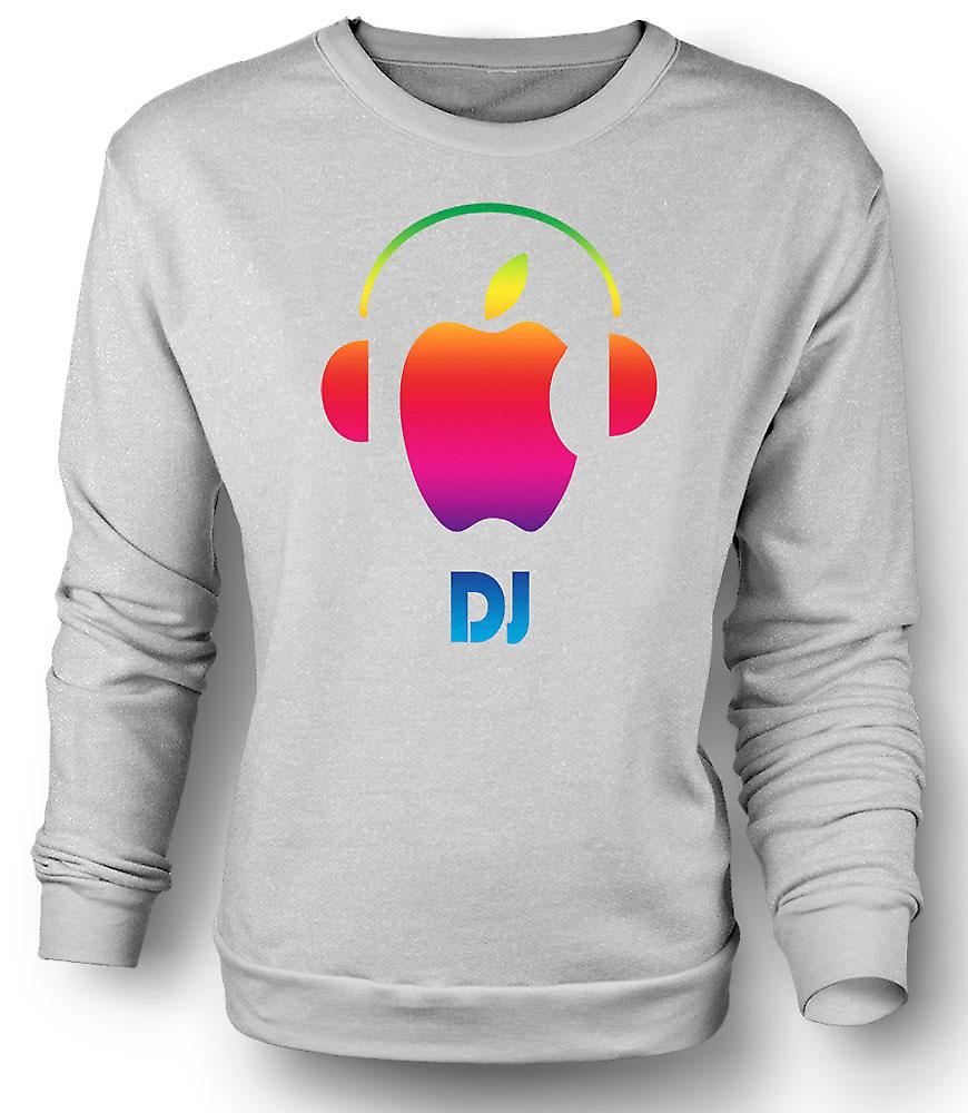 Felpa Mens Apple - cuffie per DJ