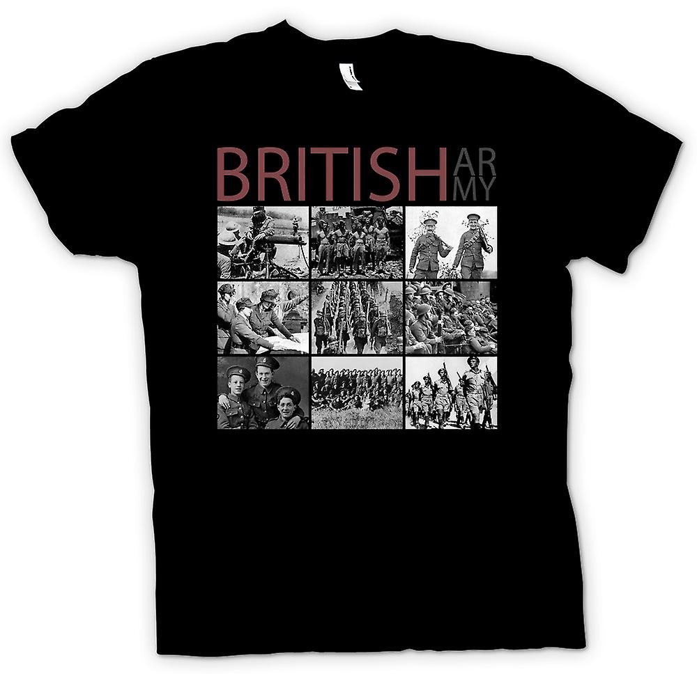Mens t-shirt - World War 2 - l'esercito britannico