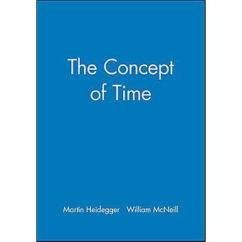 The Concept of Time by Martin Heidegger - 9780631184256 Book