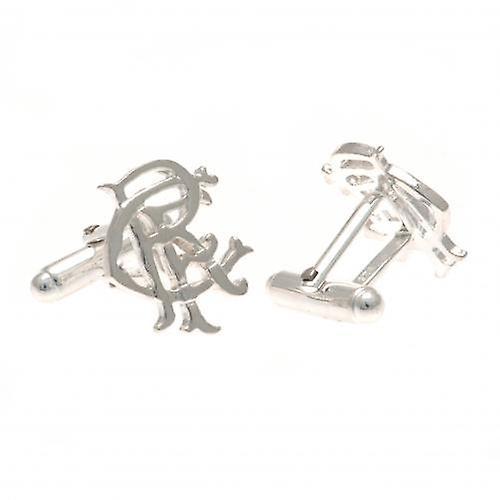 Rangers Sterling Silver Cufflinks