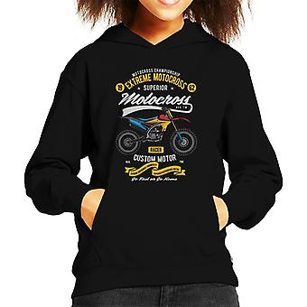 Extreme Motocross Kid de Hooded Sweatshirt
