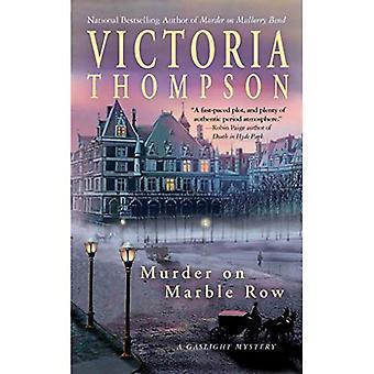 Murder on Marble Row (Gaslight Mysteries)