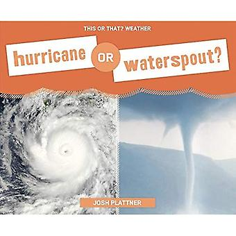 Hurricane or Waterspout? (This or That? Weather)