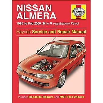 Nissan Almera Service en reparatie handleiding: N V Reg (Haynes Service en reparatie handleidingen)