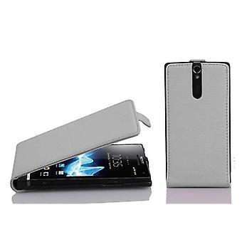 Cadorabo case for Sony Xperia S Flip case cover
