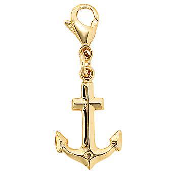 Enkele oorbellen-333 /-g-Anker hanger anker gouden anker gouden charme hangers anker goud