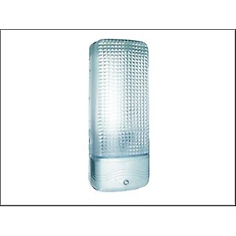 ES81A PLASTIC SECURITY LIGHT WITH MOTION DETECTOR - CHROME