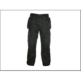 DEWALT Pro Tradesman Black Trousers Waist 30in Leg 29in
