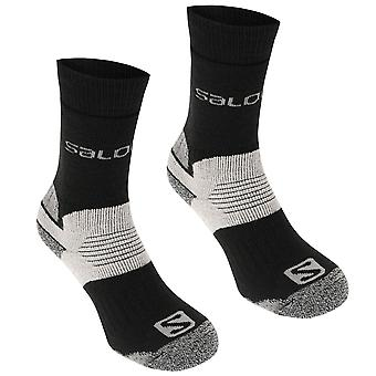 Salomon Mens Heavyweight 2 Pack Walking Socks
