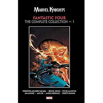 Marvel Rycerze Fantastyczna czwórka przez Aguirre sacasa, Mcniven & Muniz: Pełna kolekcja Vol. 1