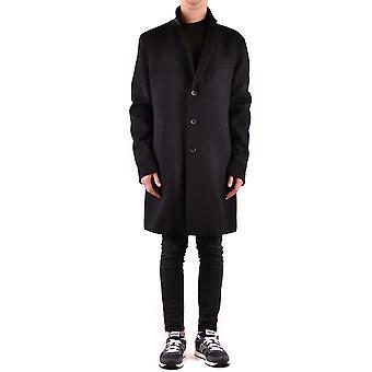 Hugo Boss Black Wool Coat