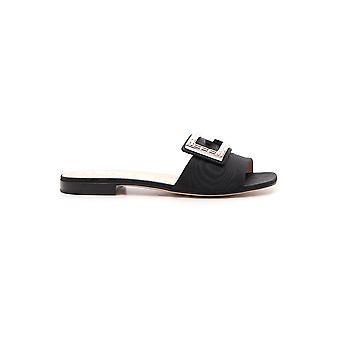 Gucci Black Acetate Sandals