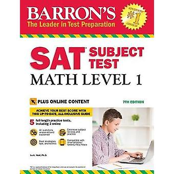 SAT Subject Test Math Level 1 - With Bonus Online Tests by SAT Subject