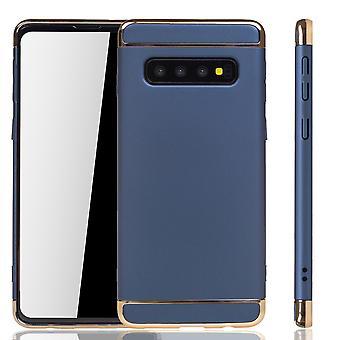 Samsung Galaxy S10 Handy Hülle Schutz Case Bumper Hard Cover Blau