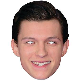 Tom Holland Single 2D Card Party Face Masque