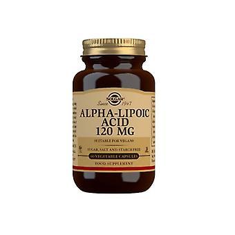 Solgar Alpha Lipoic Acid 120mg Vegicaps 60 (57)