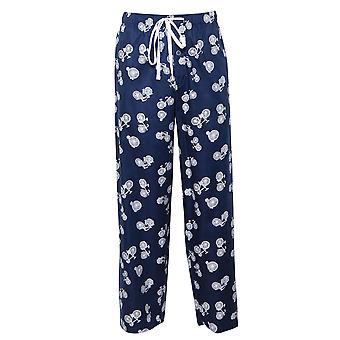Cyberjammies 6419 Men's Harper Blue Mix Bicycle Print Cotton Pyjama Pant