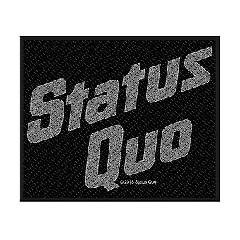 Status Quo Logo sew-on cloth patch 100mm x 80mm  (rz)