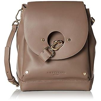 Liebeskind Berlin BucketbM - RndFlp Women's Brown shoulder bag (Cold grey 9408)) 16x30x24 cm (B x H x T)