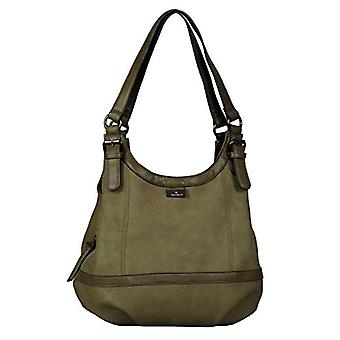 Tom Tailor Acc Juna Flash - Green Women's Tote Bags (Khaki) 31x29x14 cm (W x H L)