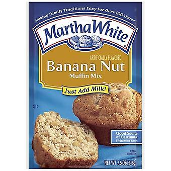 Martha witte banaan moer muffin mix