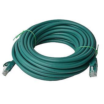 Cat 6a UTP Ethernet Kabel, snagless - 50m Grün