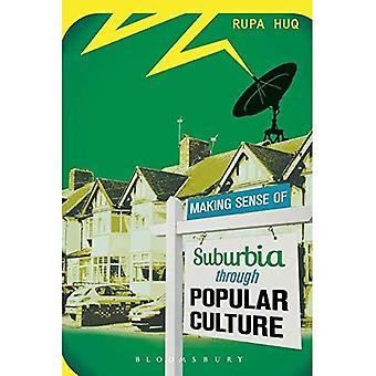 Making sans for Suburbia gennem populær kultur